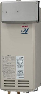 【最安値挑戦中!最大24倍】ガス給湯器 リンナイ RUX-VS2006A-E 20号 アルコーブ設置型 [∀■]