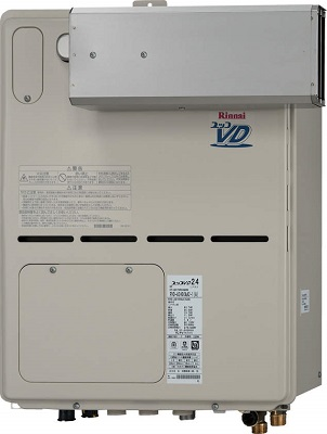 【最安値挑戦中!最大25倍】ガス給湯器 リンナイ RVD-A2000SAA(A) 20号 オート アルコーブ設置型 [⇔]
