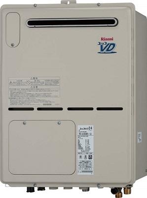 【最安値挑戦中!最大25倍】ガス給湯器 リンナイ RVD-A2400AW(A) 24号 フルオート 屋外壁掛 PS設置型 [⇔§]