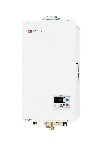 【最大44倍スーパーセール】ガス給湯器 ノーリツ【GQ-2437WS-FFA BL】給湯専用 ユコアGQ-WS オートストップ 屋内壁掛 強制給排気形 24号 [♪◎]