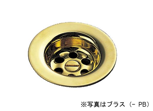 【最安値挑戦中!最大25倍】パーツ セラトレーディング HR0266T-(PB) 排水目皿 ブラス [■]
