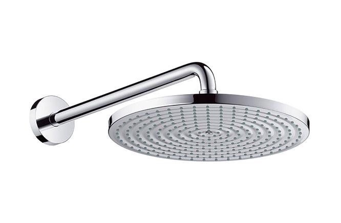 【最安値挑戦中!最大25倍】浴室水栓 セラトレーディング HG27493 壁付式オーバーヘッドシャワー(φ300mm) Raindance S300 [■]