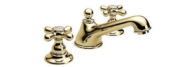 【最安値挑戦中!最大24倍】水栓金具セラトレーディング HR04260S-PB 湯水混合栓 ブラス Elsa [■]