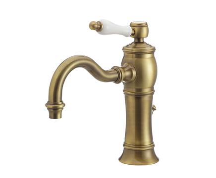 【最安値挑戦中!最大25倍】水栓金具セラトレーディング HR1708-AB 湯水混合栓 アンティークブラス Julia [■]