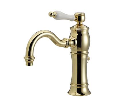 【最安値挑戦中!最大25倍】水栓金具セラトレーディング HR1708-PB 湯水混合栓 ブラス Julia [■]