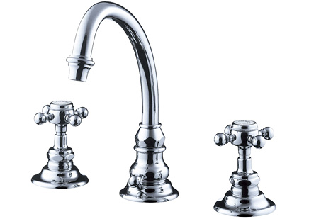 【最安値挑戦中!最大34倍】水栓金具セラトレーディング HR2260S-CH 湯水混合栓 クロム Eloise [■]
