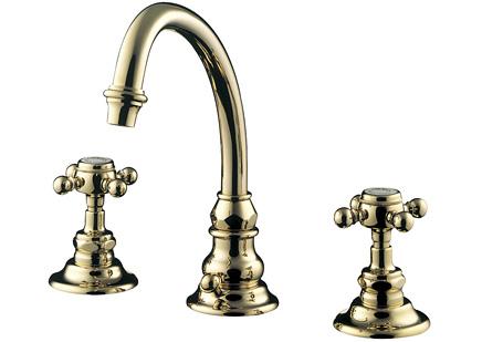 【最安値挑戦中!最大34倍】水栓金具セラトレーディング HR2260S-PB 湯水混合栓 ブラス Eloise [■]