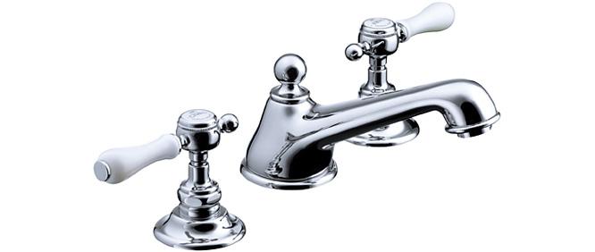 【最安値挑戦中!最大24倍】水栓金具セラトレーディング HR54260S-CH 湯水混合栓 クロム Elsa [■]