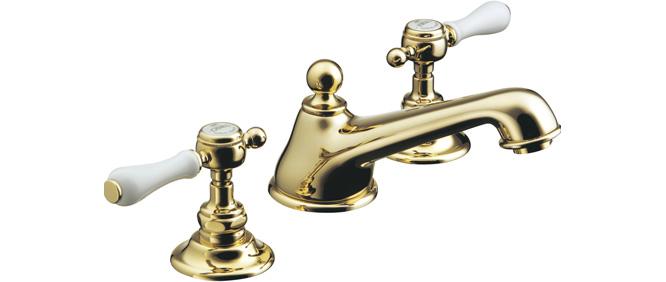 【最安値挑戦中!最大24倍】水栓金具セラトレーディング HR54260S-PB 湯水混合栓 ブラス Elsa [■]