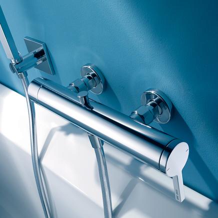 【最安値挑戦中!最大34倍】浴室水栓 セラトレーディング KW0192440R シャワバス用湯水混合栓 Ava [■]