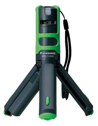 【最安値挑戦中!最大25倍】電設資材 パナソニック BTL1100G レーザーマーカー墨出し名人 ケータイ 壁十文字(水平+鉛直タイプ) グリーン