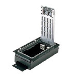 【最安値挑戦中!最大24倍】電設資材 パナソニック NE32510 フラット型インナーコンセント 低床用角II型(電力×2,電話×2) [∽]