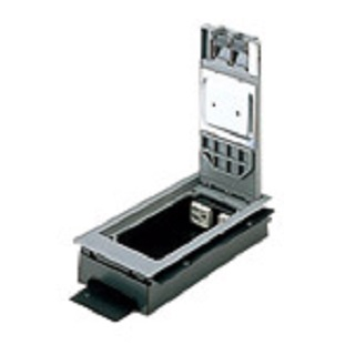 【最安値挑戦中!最大33倍】電設資材 パナソニック NE32710 標準型インナーコンセント 低床用角II型(電力×2,電話×2) [∽]