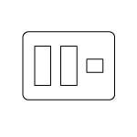 【最安値挑戦中!最大24倍】電設資材 パナソニック WTV6207A2 コンセント用プレートダークブラウン グレーシアシリーズ Fプレート 7コ用 受注生産 [∽§]