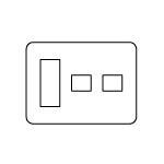 【最安値挑戦中!最大33倍】電設資材 パナソニック WTV6275A2 コンセント用プレートダークブラウン グレーシアシリーズ Fプレート 3コ+1コ+1コ用 受注生産 [∽§]