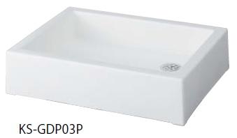【最安値挑戦中!最大25倍】ナスタ KS-GDP03P-WH 屋外水栓 水栓パン ホワイト [♪▲]