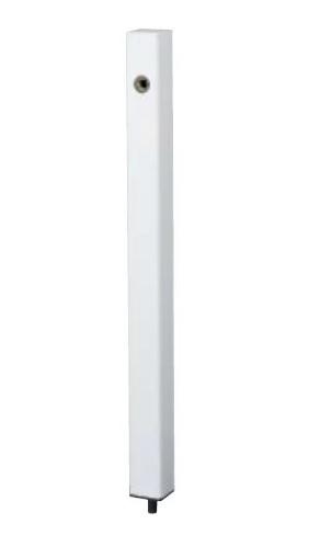 【最安値挑戦中!最大25倍】ナスタ KS-SC04P-WH 屋外水栓 水栓柱 ホワイト [♪▲]