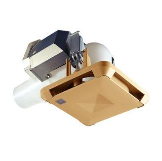 【最安値挑戦中!最大34倍】マックス ES-50KLB3-CX 角型給気グリル エルボ・曲 「プラズマクラスター」技術搭載 風量調節機能付 色=茶