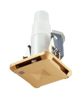 【最安値挑戦中!最大34倍】マックス ES-50KSB3-CX 角型給気グリル ストレート・直 「プラズマクラスター」技術搭載 風量調節機能付 色=茶