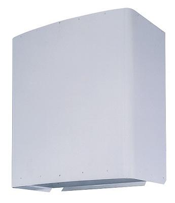 【最大44倍スーパーセール】換気扇部材 三菱 UW-25SDHC ウェザーカバー 排気 ステンレス/高温用 [□]