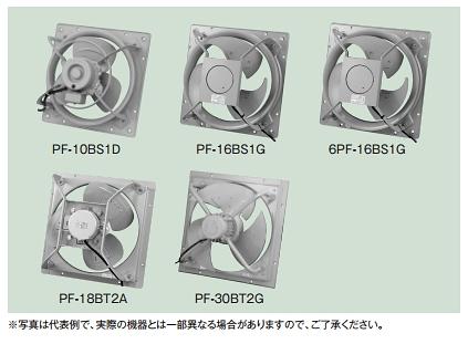 【最安値挑戦中!最大24倍】テラル PF-30BT2G 圧力扇 標準形 PF型 排気形 羽根径75cm 三相200v 1500w [♪◇]