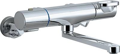 【最安値挑戦中!最大25倍】INAX BF-WM345T バス水栓 壁付タイプ サーモスタット クロマーレS 一般地用 [□]