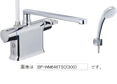 【最安値挑戦中!最大25倍】INAX BF-WM646TSC(300) サーモスタット付シャワーバス水栓 エコフルスプレーシャワー(メッキ仕様) クロマーレS 一般地 [□]