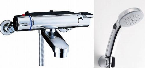 【最安値挑戦中!最大24倍】水栓金具 INAX BF-2147TKNSCW シャワーバス 洗い場専用 サーモスタット ヴィラーゴ 逆止弁付 寒冷地 [□]