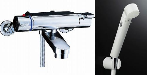 【最安値挑戦中!最大34倍】水栓金具 INAX BF-2147TKNSDW シャワーバス 洗い場専用 サーモスタット ヴィラーゴ 逆止弁付 寒冷地 [□]