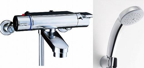 【最安値挑戦中!最大34倍】水栓金具 INAX BF-2147TKSC シャワーバス 洗い場専用 サーモスタット ヴィラーゴ 逆止弁付 一般地 [□]