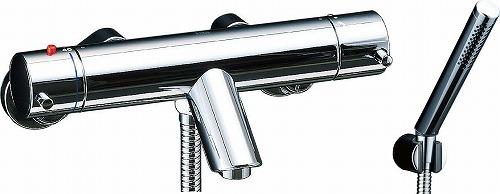 【最安値挑戦中!最大25倍】水栓金具 INAX BF-E147T シャワーバス 洗い場専用 サーモスタット eモダン 逆止弁付 一般地 [□]