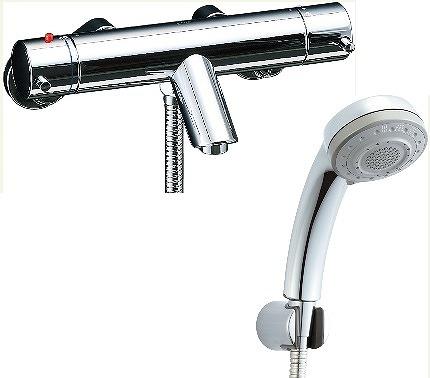 【最安値挑戦中!最大23倍】水栓金具 INAX BF-E147TNSB シャワーバス 洗い場専用 サーモスタット eモダン 逆止弁付 寒冷地 [□]
