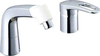 【最安値挑戦中!最大34倍】水栓金具 INAX LF-HX360SRNHK(500) マルチシングルレバー混合 湯側開度規制付 寒冷地 受注生産 [□§]