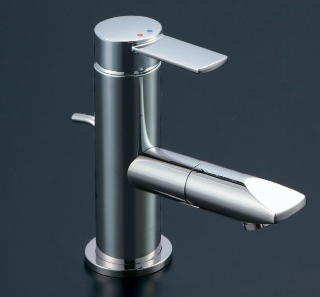 【最安値挑戦中!最大23倍】水栓金具 INAX LF-X340SRN 洗面器・手洗器用 吐水口回転式シングルレバー混合水栓 FC・ワンホール 寒冷地 ポップアップ式 [□]
