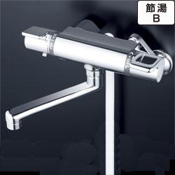 【最安値挑戦中!最大25倍】シャワー水栓 KVK KF880WTR2 浴室シャワー水栓 サーモスタット式シャワー 240mmパイプ付 寒冷地用
