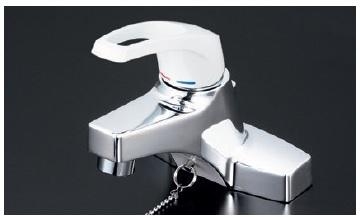 【最安値挑戦中!最大25倍】シングルレバー KVK KM7014ZT2 洗面化粧室 洗面用シングルレバー式混合栓・ゴム栓付