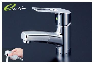 【最安値挑戦中!最大25倍】シングルレバー KVK KM8001TEC 洗面化粧室 洗面用シングルレバー式混合栓