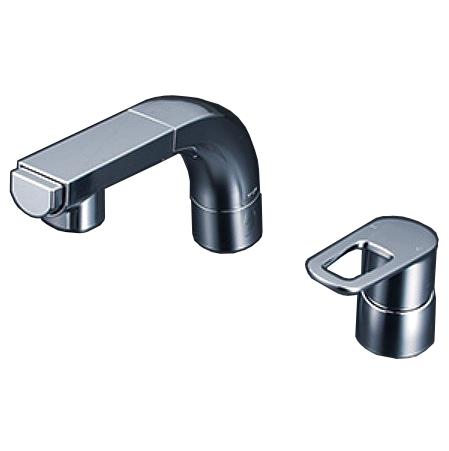 【最安値挑戦中!最大25倍】KVK FSL120DT シングルレバー式洗髪シャワー