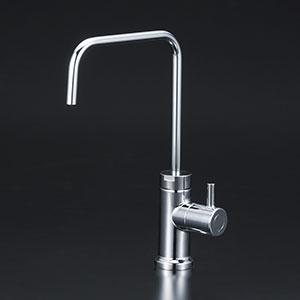 【最安値挑戦中!最大25倍】水栓金具 KVK K1620GS 浄水器付水栓