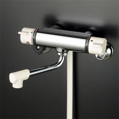 【最安値挑戦中!最大25倍】KF800R2 シャワー水栓 KVK サーモスタット式シャワー 240mmパイプ付
