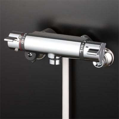 【最安値挑戦中!最大25倍】シャワー水栓 KVK KF800TNN サーモスタット式シャワー
