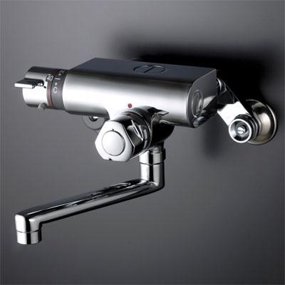 【最安値挑戦中!最大25倍】混合栓 KVK KM159G お湯ぴた 定量止水付サーモスタット式混合栓