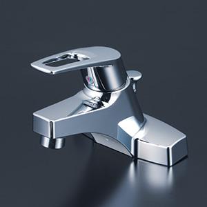 【最安値挑戦中!最大25倍】シングルレバー KVK KM7014THP 洗面化粧室 洗面用シングルレバー式混合栓(ポップアップ式・逆止弁あり)