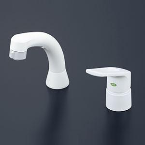 【最安値挑戦中!最大25倍】水栓金具 KVK KM8007EC シングルレバー式洗髪シャワー(eレバー)