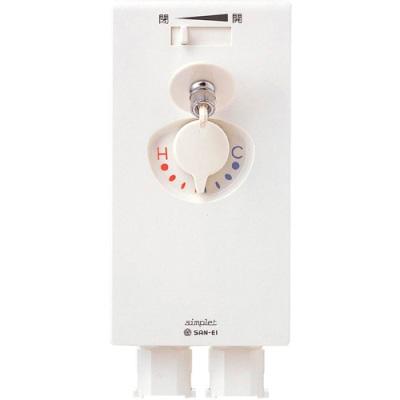 【最安値挑戦中!最大25倍】三栄水栓 simplet ミキシング シンプレット 洗濯機用 【K960LU-1】 [□]