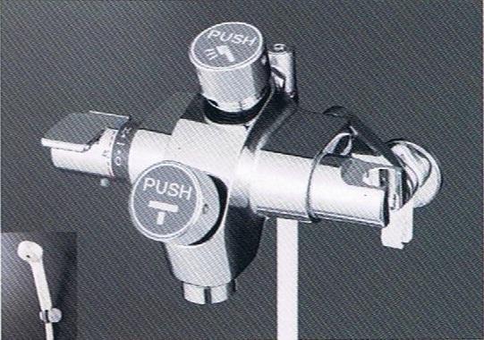 【最安値挑戦中!最大24倍】シャワー水栓 KVK KF3040 自閉式サーモスタット式シャワー
