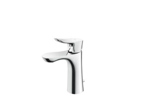 【最安値挑戦中!最大30倍】TOTO 洗面所用水栓 TLG01302J 台付シングル混合水栓 逆止弁 ワンプッシュ式 [■]