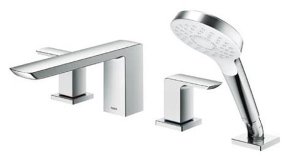 【最安値挑戦中!最大30倍】TOTO 浴室用水栓 TBG02202J 台付2ハンドル混合水栓[■]