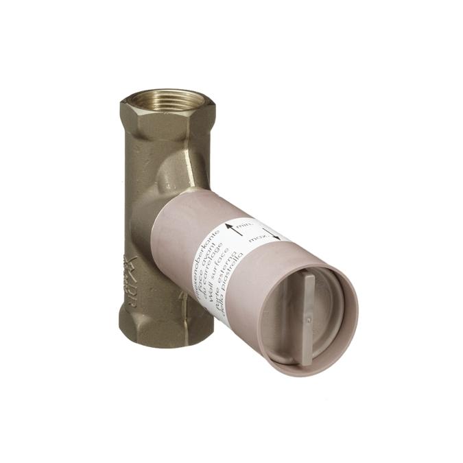 【最安値挑戦中!最大25倍】ハンスグローエ 15974180 埋込部 止水栓用 セラミックバルブ 40L/min 1/2 [■]