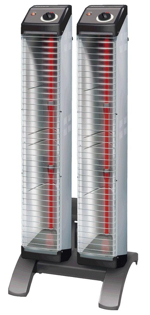 【最安値挑戦中!最大25倍】ダイキン 遠赤外線暖房機 ERK30ND セラムヒート(床置スリム/ツイン)単相200V 電源コード別売 [♪■]